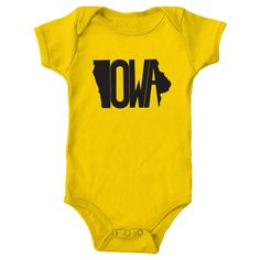 Iowa State Onesie by The Stately Shirt Co. by TheStatelyShirtCo