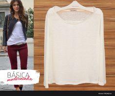 Anna Morena | Fall Winter Lookbook 2014 | Lookbook Outono Inverno 2014 | blusa básica; moda feminina; trend.