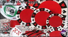 Casino Night Party Ideas | ... theme party themes cached similarpoker themed party supplies casiono