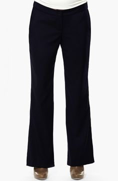 Eva Alexander London 'Morgan' Tailored Maternity Pants available at #Nordstrom