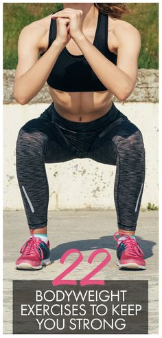 Most women think that the only way to get healthy and strong is to lift weights. Luckily, some of the best, most effective exercises are the ones that only require your own body. Try these 22 bodyweight-only exercises and see just how well they work! Womanista.com