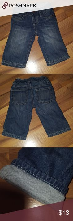 Boys Baby Gap Blue Jeans Boys Baby Gap Blue Jeans EUC No stains or signs of wear. Gray cotton lining. GAP Bottoms Jeans