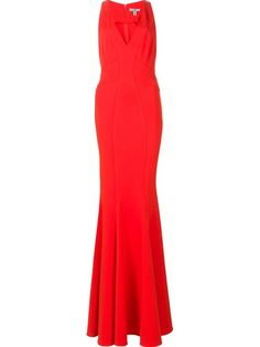 Shop Zac Zac Posen 'Sirena' gown .