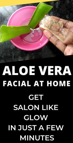 Aloe vera facial at home to get clear flawless skin at home in 2020 Aloe Vera Facial, How To Grow Eyebrows, Skin Tag Removal, Get Rid Of Blackheads, Makes You Beautiful, Mouthwash, Flawless Skin, Beauty Hacks, Beauty Tips