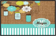 Perfect door mat for any southern lady.  I love this one.    www.mindymeyer.etsy.com