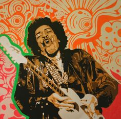 39 best jimi hendrix art images in 2013 caricatures - Jimi hendrix wallpaper psychedelic ...