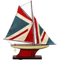 Union Jack Yacht