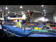 Gymnastics Bars, Gymnastics Skills, Gymnastics Coaching, Drills, Conditioning, Amanda, Basketball Court, Places To Visit, Youtube