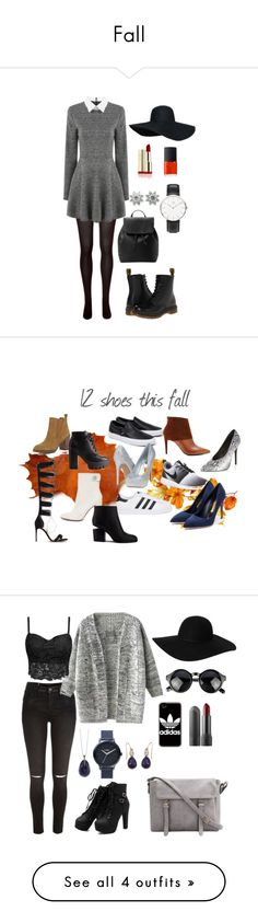 """Fall"" by kajsa15 on Polyvore featuring SPANX, Dr. Martens, MANGO, NARS Cosmetics, Daniel Wellington, Tiffany & Co., River Island, Charlotte Russe, Vans and NIKE"