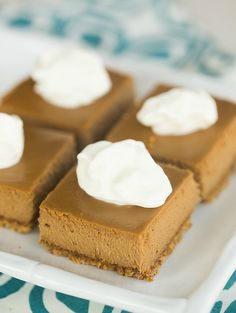Cappuccino Cheesecake Bars   browneyedbaker.com #recipe