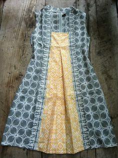 Batik - like the dress pattern