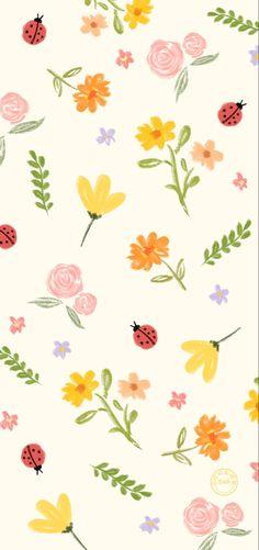 Free Wallpaper Backgrounds, Teal Wallpaper, Flowery Wallpaper, Animal Print Wallpaper, Whatsapp Wallpaper, Spring Wallpaper, Hippie Wallpaper, Cute Pastel Wallpaper, Watercolor Wallpaper