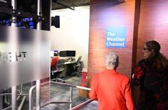 The Administrator started her day at The Weather Channel's offices, where producer Ioanna Dafermou met her for a behind-the-scenes look at the technology and operations the station uses to track and report our nation's weather. (1 of 15)