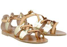 Filareskia Low Sandals by Ancient-Greek-Sandals.com