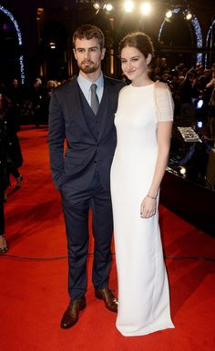 Theo James and Shailene Woodley Steal the Spotlight at the Insurgent World Premiere  #InStyle