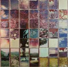 Isnt this a fantastic idea to decorate your wall? Patrick Winfield assembles these stunning Polaroid collages using Impossible Project film! via Wooster Collective Photo Projects, Photo Art, Photo Collage, Polaroid Collage, Surreal Photos, Encaustic Art, Instant Art, Photo Mosaic, Fine Art Photography