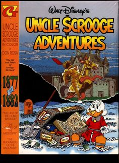 "SEALED Walt Disney's Uncle Scrooge McDuck Comics DON ROSA in Color #1 ""1877-1882"" N M With Card"