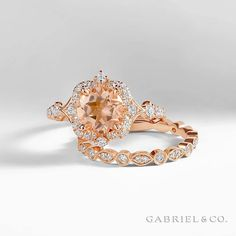 Bridging the gap between dreams and reality. Explore more of our morganite collection here: & Alternative Engagement Rings, Perfect Engagement Ring, Morganite Engagement, Diamond Engagement Rings, Morganite Jewelry, Photo Jewelry, Diamond Rings, Jewelry Stores, Heart Ring