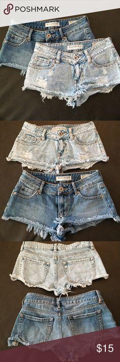 Pacific Sun low rise shorts BUNDLE!! 2 for $15 shooort shorts! PacSun Shorts Jean Shorts