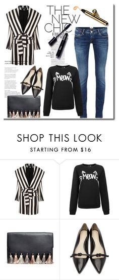 """""""Ericdress Reviews"""" by ericdressreviews ❤ liked on Polyvore featuring Balmain, Rebecca Minkoff, 3.1 Phillip Lim, Beauty, womenfashion, trenchcoat and ericdressreviews"""