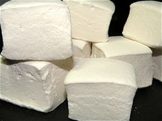 I have been meaning to make my own marshmellows.. and I will do. Perhaps using Kosher gelatin as the hubsta doesn't eat pork.