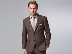 The Modern Brown Linen & Wool Suit | Indochino