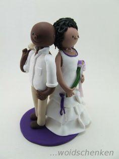 Tortenfiguren Brautpaar