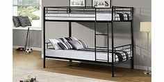 PKL Leisure Bunk Bed Metal Frame Childrens 3ft Single Available in Black Features: 3ft single bunk bed High quality tubular metal frame Can be used as two single beds Strong and durable steel construction Available in black, white or silver Ma (Barcode EAN = 5013247622565) http://www.comparestoreprices.co.uk/bunk-beds/pkl-leisure-bunk-bed-metal-frame-childrens-3ft-single-available-in-black.asp