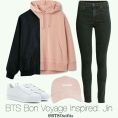 Kpop Fashion Outfits, Korean Outfits, Mode Outfits, Winter Outfits, Korean Clothes, School Outfits, Bts Clothing, Adidas Clothing, Bts Inspired Outfits