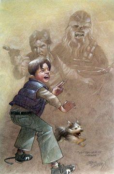 Star Wars - Let 'em Have it Chewy by Craig Davison