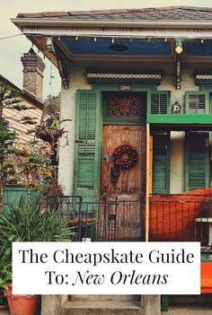 Want to travel to New Orleans on the cheap? A local tells us all about $25 hostels, free (!?) Indian food, and a $2 ferry ride that shows you the whole French Quarter! >> yesandyes.org
