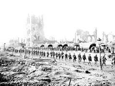 Historic photo: Australians at Ypres 1917