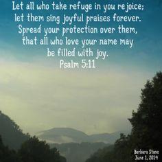 psalms 5: 11 - Google Search