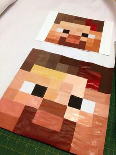Minecraft 4 by kitschycoo, via Flickr