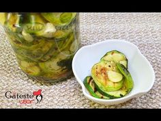 YouTube Pickles, Zucchini, Vegetables, Drinks, Youtube, Food, Preserves, Beverages, Veggies