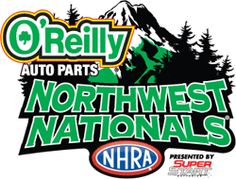 Watching the NHRA Drag Racing Series O'Reilly Auto Parts Northwest Nationals, from Pacific Raceways in Seattle. Nhra Drag Racing, Event Logo, O Reilly, Indy Cars, Logo Inspiration, North West, Seattle, World, Check