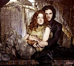 #game of thrones #Jon Snow #Ygritte