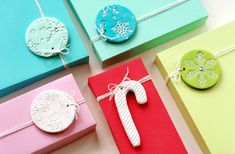26 Whimsy DIY Christmas Gift Tags | Shelterness