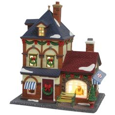 "Heartland Village 9"" Porcelain Village Building Brannigan's Bakery ($31.99 Ace Hardware)"