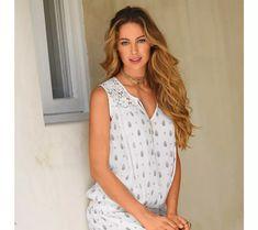 Blúzkový top s macramé a potlačou Lace, Women, Fashion, Moda, Women's, Fasion, Trendy Fashion, La Mode