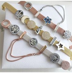 Pandora Jewelry OFF! New Pandora Charms, Pandora Bracelet Charms, Pandora Jewelry, Pandora Pandora, Jewelry Bracelets, Pandora Bangle, Pandora Gold, Jewellery, Rose Gold Morganite Ring