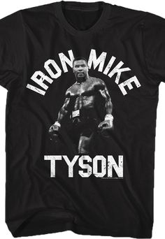 Mike Tyson Champion Boxing Legend Poster Quote Mens White T-Shirt Size S to 3XL