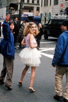 We all knew tutus had really made it in the fashion world when iconic fashionista #CarrieBradshaw sported one on the streets of NYC.