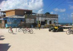 """The """"Lazy Lizard"""", Caye Caulker, Belize"""