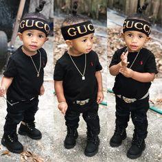 Kid swag, baby swag, cute kids fashion, toddler boy fashion, little boy Cute Mixed Babies, Cute Black Babies, Beautiful Black Babies, Cute Little Baby, Cute Baby Girl, Pretty Baby, Little Boy Swag, Baby Boy Swag, Cute Baby Boy Outfits