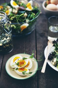 Egg Salad with Oven Roasted Potatoes and Cauliflower Recipe