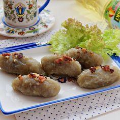 Babka ziemniaczana Baked Potato, Potatoes, Baking, Pierogi, Polish Food, Ethnic Recipes, Potato, Bakken, Bread