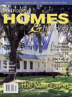 The Rose Hill Mansion in the Carolina Homes & Interiors Magazine