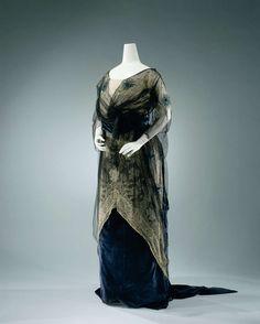 Evening Dress   c.1911   -   Rijksmuseum