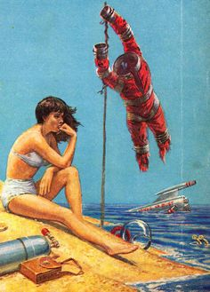 stranded female astronaut wrecked spaceship